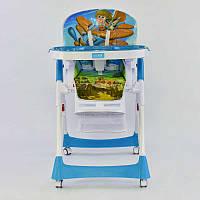 Детский стульчик для кормления JOY J-7600 Самолет 72441, КОД: 1291427