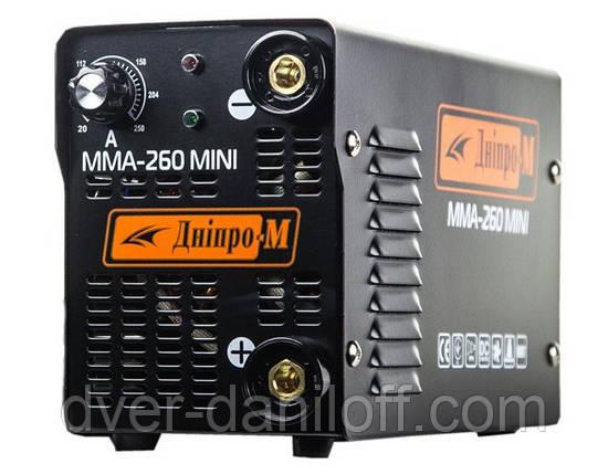 """Сварочный инвертор """"Дніпро-М"""" mini 260 B ММА цена актуальна, фото 2"""