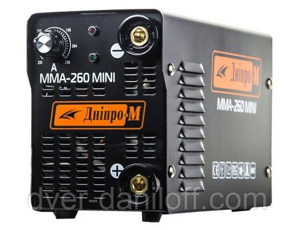 """Зварювальний інвертор """"Дніпро-М"""" mini 260 B ММА ціна актуальна"""