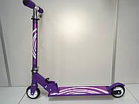 Самокат детский Pulse армированный алюминий США Фиолетовый