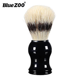 Помазок для бритья Bluezoo Shaving brush кабан черный