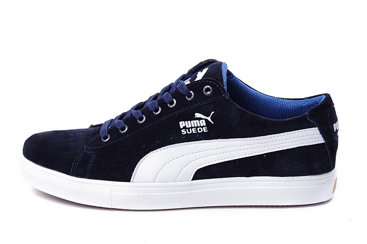 Чоловічі Шкіряні Кеди Puma Blue SUEDE