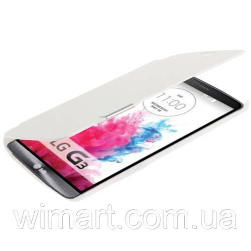 Чехол-книжка LG G3, белый