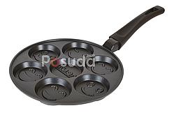Сковорода оладница-блинница Смайл Биол 24 см СО-24П