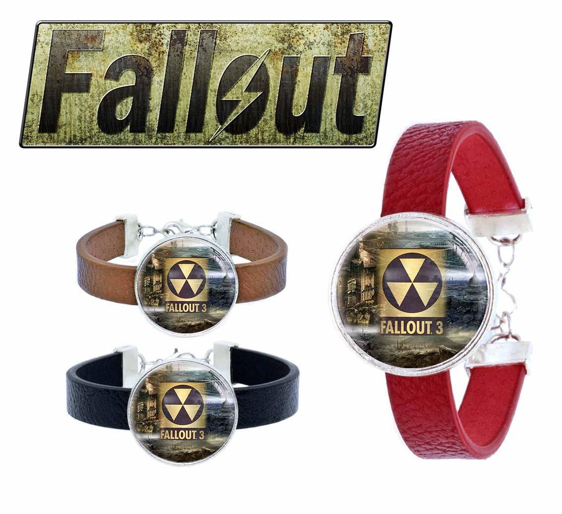 Браслет Локации FALLOUT 3 Фаллаут / Fallout