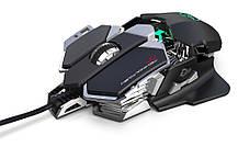 Мышь компьютерная игровая HXSJ J600 проводная черный