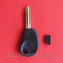 Заготівля ключа для Citroen Xsara, Picasso, Saxo, Berlingo (Сітроен Ксара, Пікассо, Саксо) 2 кн, лезо SX9