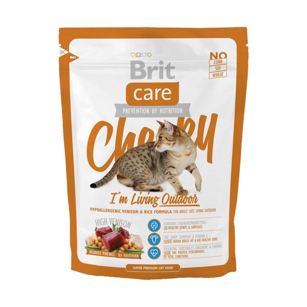 Корм для котів Brit Care Cat Cheeky 0,4 кг