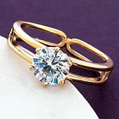 Кольцо женское, медзолото Xuping
