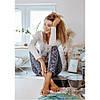 Пижама женская флисовая LNS 082 KEY Польша, фото 10