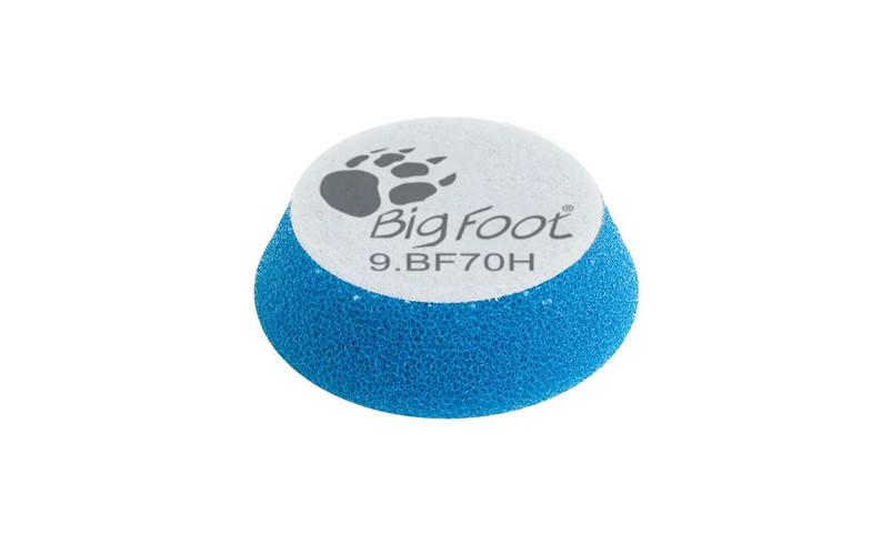 Полировальный круг поролоновый грубый - Rupes BigFoot coarse 50/70 мм. синий (9.BF70H)