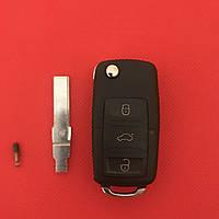 Ключ Фольксваген Volkswagen Passat  3 кнопки + Panic с микросхемой 1J0959753AM с частотой 315MHz ID48