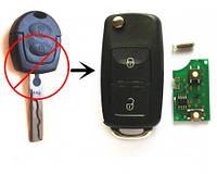 Ключ выкидной для Skoda Шкода Octavia 2 кн 5FA 007 680 Частота 433 МГц, с ID48  чипом