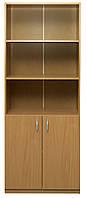 Шкаф книжный 2-дверный (0632)
