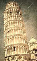 Фотообои на флизелиновой основе - Пизанская башня (ширина рулона -1,03м)
