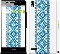 "Чохол на Huawei Ascend P6 Вишиванка 23 ""591c-39"""