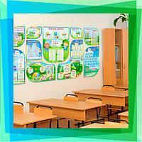 Комплект стендів оформлення класу - початкова школа НУШ