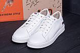 Мужские кожаные кеды  FILA Soft White Leather, фото 9