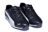 Чоловічі шкіряні кросівки Puma BMW MotorSport Black, фото 3