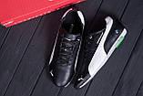 Чоловічі шкіряні кросівки Puma BMW MotorSport Black, фото 10