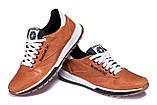 Чоловічі шкіряні кросівки Reebok Classic brown, фото 4