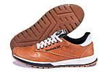 Чоловічі шкіряні кросівки Reebok Classic brown, фото 5