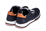 Чоловічі шкіряні кросівки Reebok Classic black, фото 6