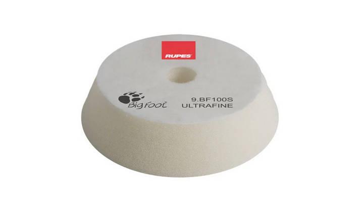 Полировальный круг поролоновый сверхтонкий - Rupes BigFoot ultrafine 80/100 мм. белый (9.BF100S), фото 2