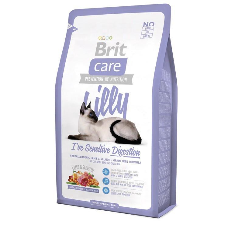 Корм для котов Brit Care Cat Lilly 2кг