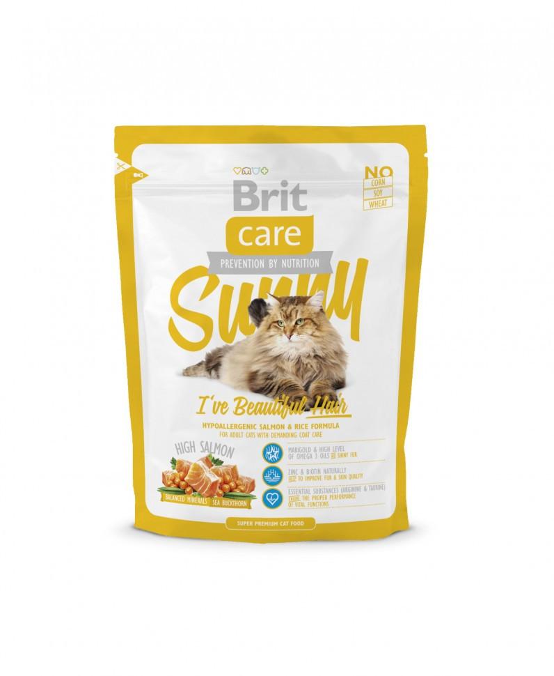 Корм для котов Brit Care Cat Sunny 0,4кг