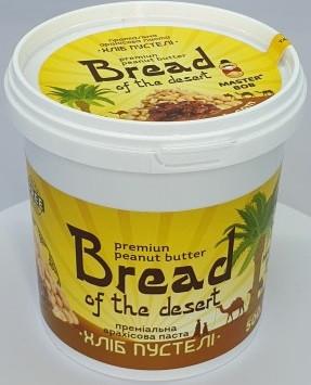 """Арахисовая паста Master Bob - """"Bread Of The Desert"""" с финиками (500 грамм)"""