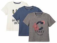 Комплект футболок для мальчика  Lupilu (Германия) р.86/92, 110/116, фото 1