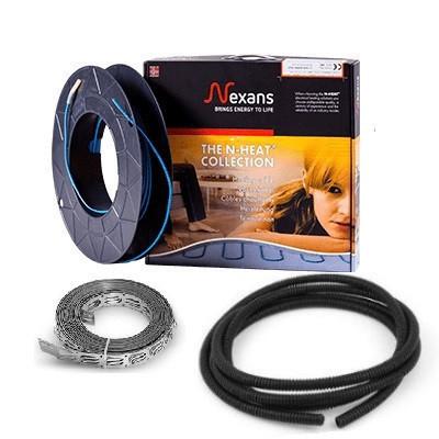 Тонкий нагревательный кабель Nexans Millicable FLEX 15 1200W