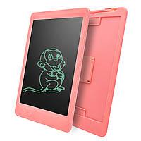 """Планшет для рисования- LCD,  с ластиком   (графический планшет) ,розовый , 10"""""""