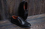 Мужские кожаные туфли Tommy HF, фото 6