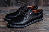Мужские кожаные туфли Tommy HF, фото 8