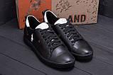 Чоловічі шкіряні кросівки Polo Clasic Black, фото 8
