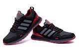 Чоловічі шкіряні кросівки Adidas A19 Red Star, фото 4