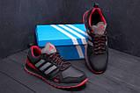 Чоловічі шкіряні кросівки Adidas A19 Red Star, фото 7