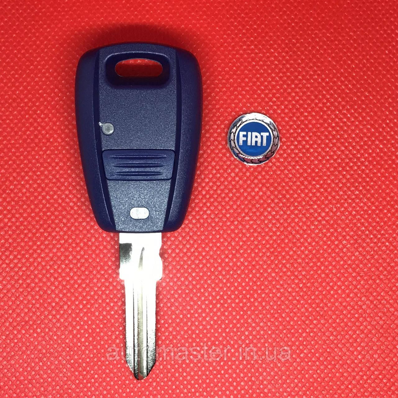 Корпус авто ключа для FIAT DOBLO (Фиат добло) 1 - кнопка c лезвием GT15