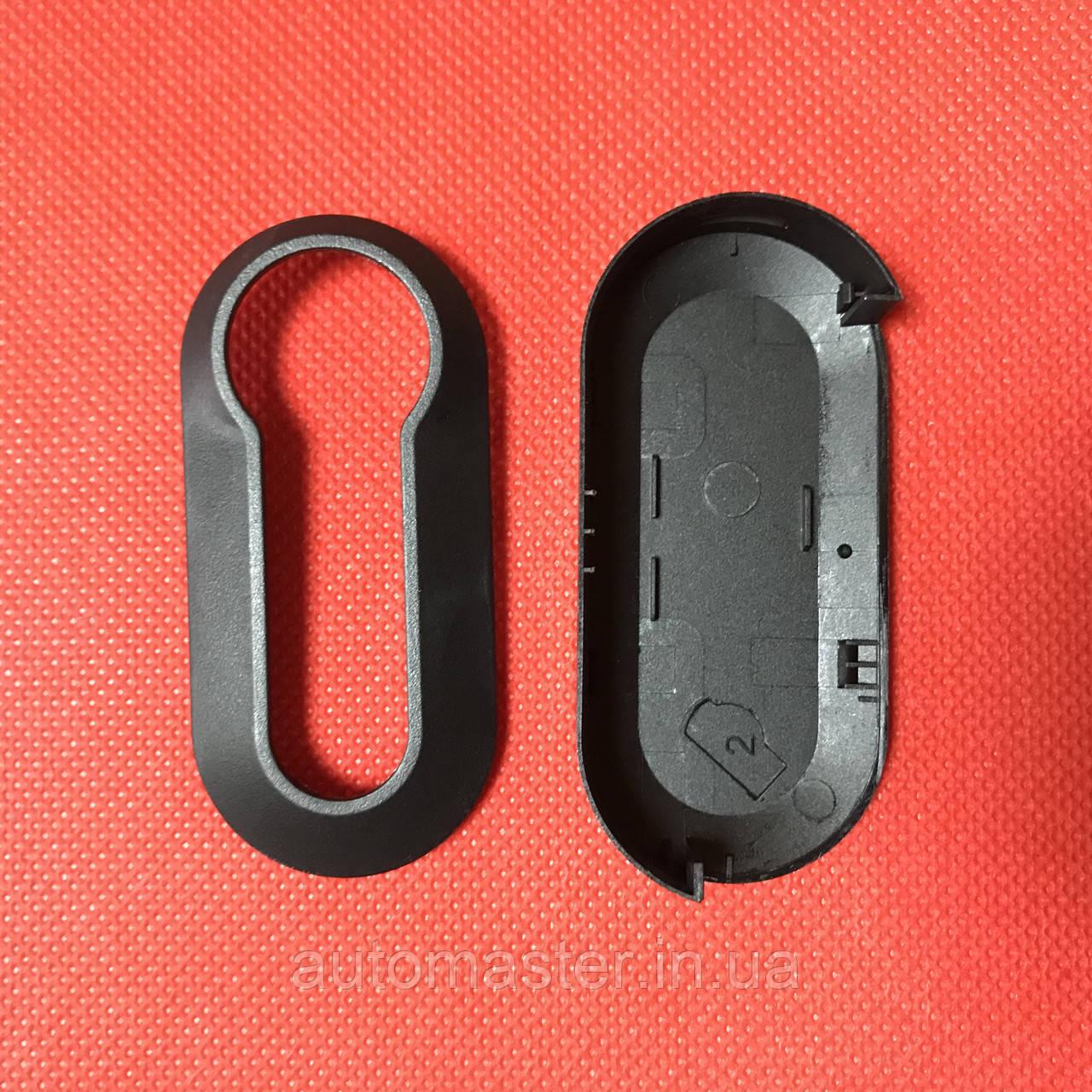 Рем комплект выкидного автоключа ключ Фіат для Fiat 500 І Punto,Doblo,Ducato ( Добло, Дукато) 3 - кнопки