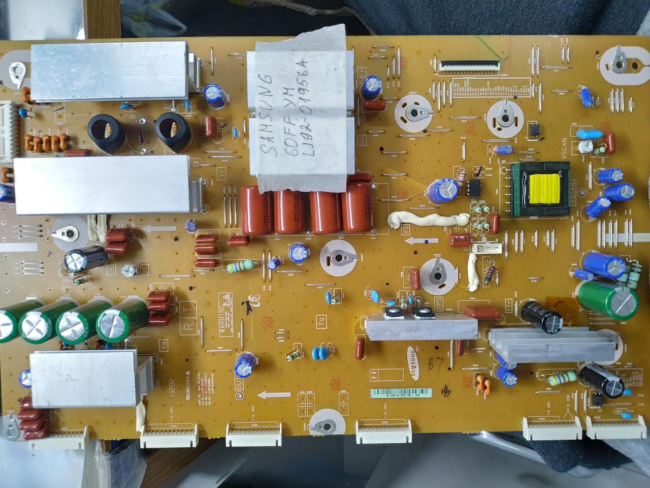 Y-SUS Board Samsung LJ92-01958A, LJ41-10331A плата Samsung PS60F5500 PN60F5300