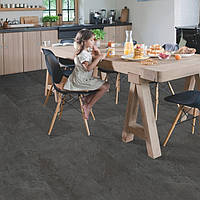 Quick-Step AMGP40035 Black slate, виниловый пол Ambient Glue Plus