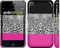 """Чехол на iPhone 3Gs Шкура леопарда v3 """"2723c-34"""""""