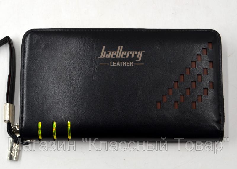 SALE! Портмоне Baellerry Leather Model 2 (SW009) ЧЕРНЫЙ