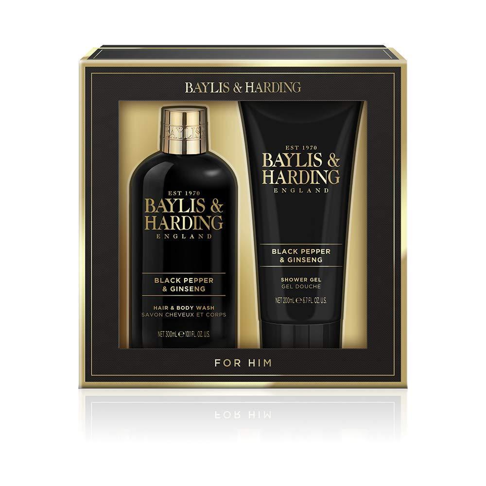 Подарочный набор для мужчин Baylis & Harding с ароматом черного перца и женьшеня
