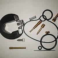 Ремкомплект  карбюратора    HONDA  DIO af-27+жиклёр пускового обогатителя