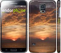 """Чехол на Samsung Galaxy S5 Duos SM G900FD Закат """"2922c-62"""""""