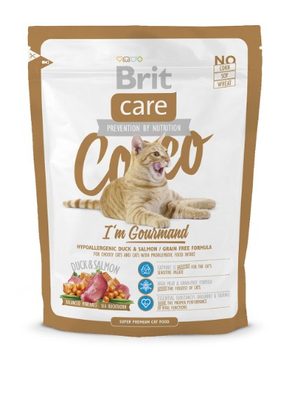 Корм для котов Brit Care Cat Cocco 0,4кг