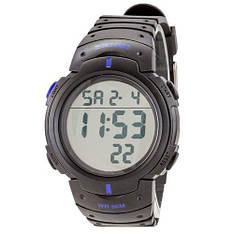 Часы наручные мужские Skmei 1068 Black-Blue